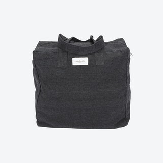 Elzevir Weekend Bag in Black