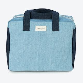Célestins Bag in Denim Patchwork