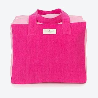 Célestins Bag in Cherry & Rosé