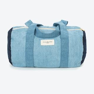 Ballu Duffle Bag in Patchwork Denim