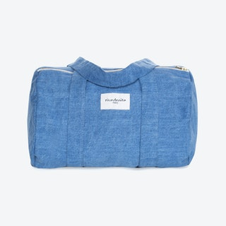 Ballu Duffle Bag in Stone Washed Denim