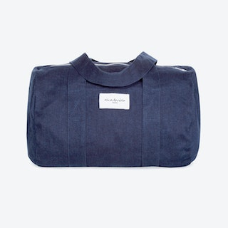 Ballu Duffle Bag in Raw Denim
