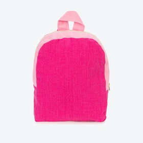 Hardy Kids Backpack in Cherry & Rosé