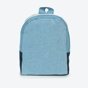 Hardy Kids Backpack in Denim Patchwork