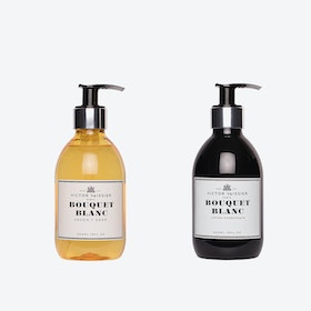 Bouquet Blanc Liquid Soap & Hydrating Creme Set