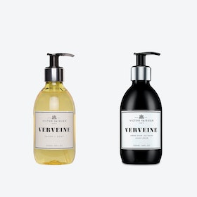 Verveine Liquid Soap & Hydrating Creme Set