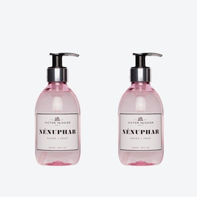 Nénuphar Liquid Soap (set of 2)