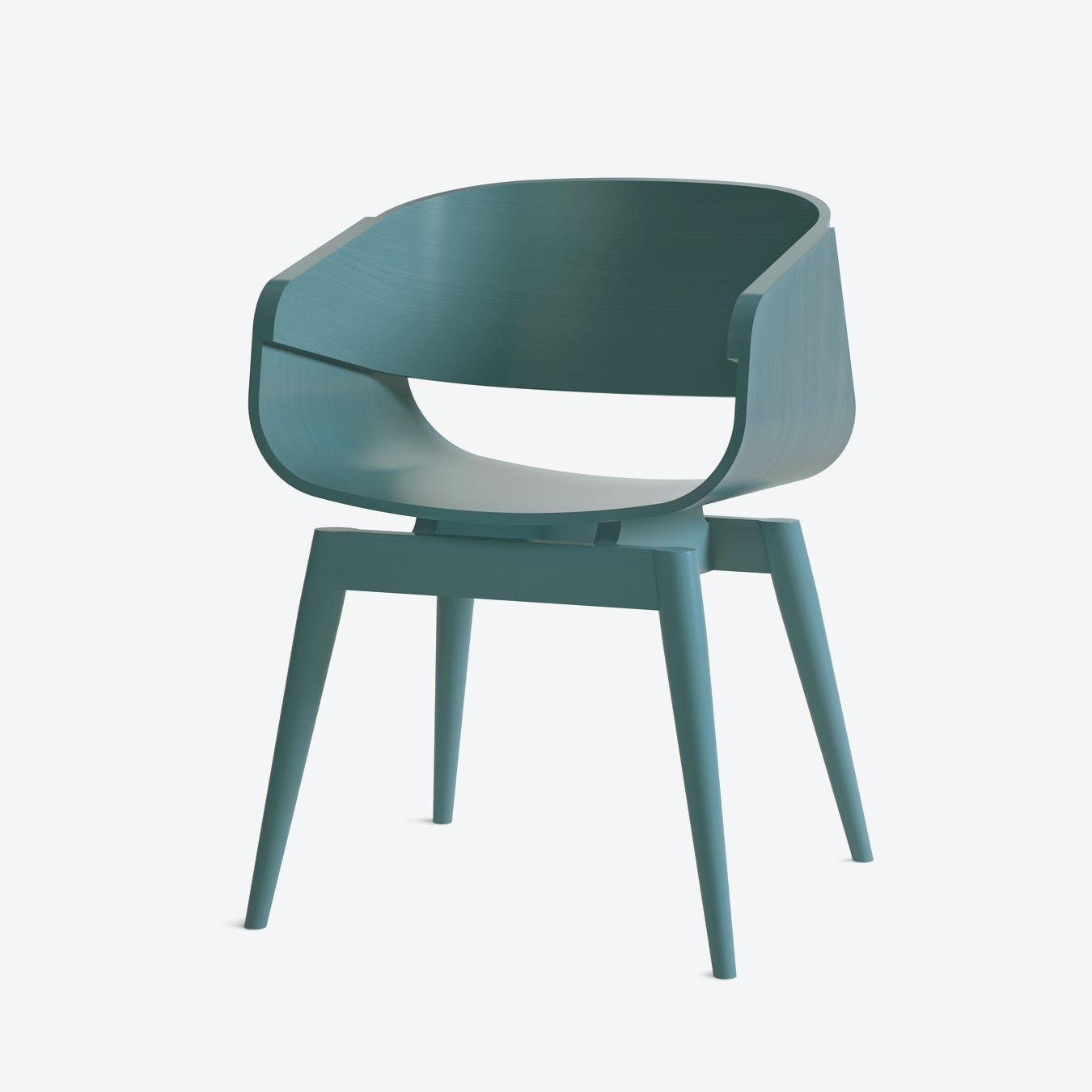 4th Armchair in Blue