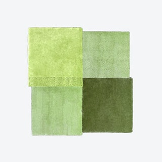 Over Square Rug - Green