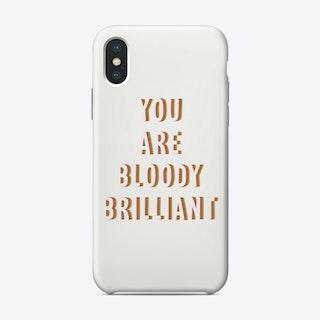 Bloodybrilliant Phone Case