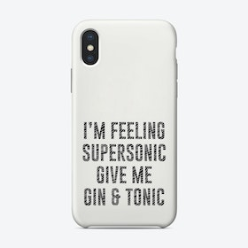Supersonic Phone Case