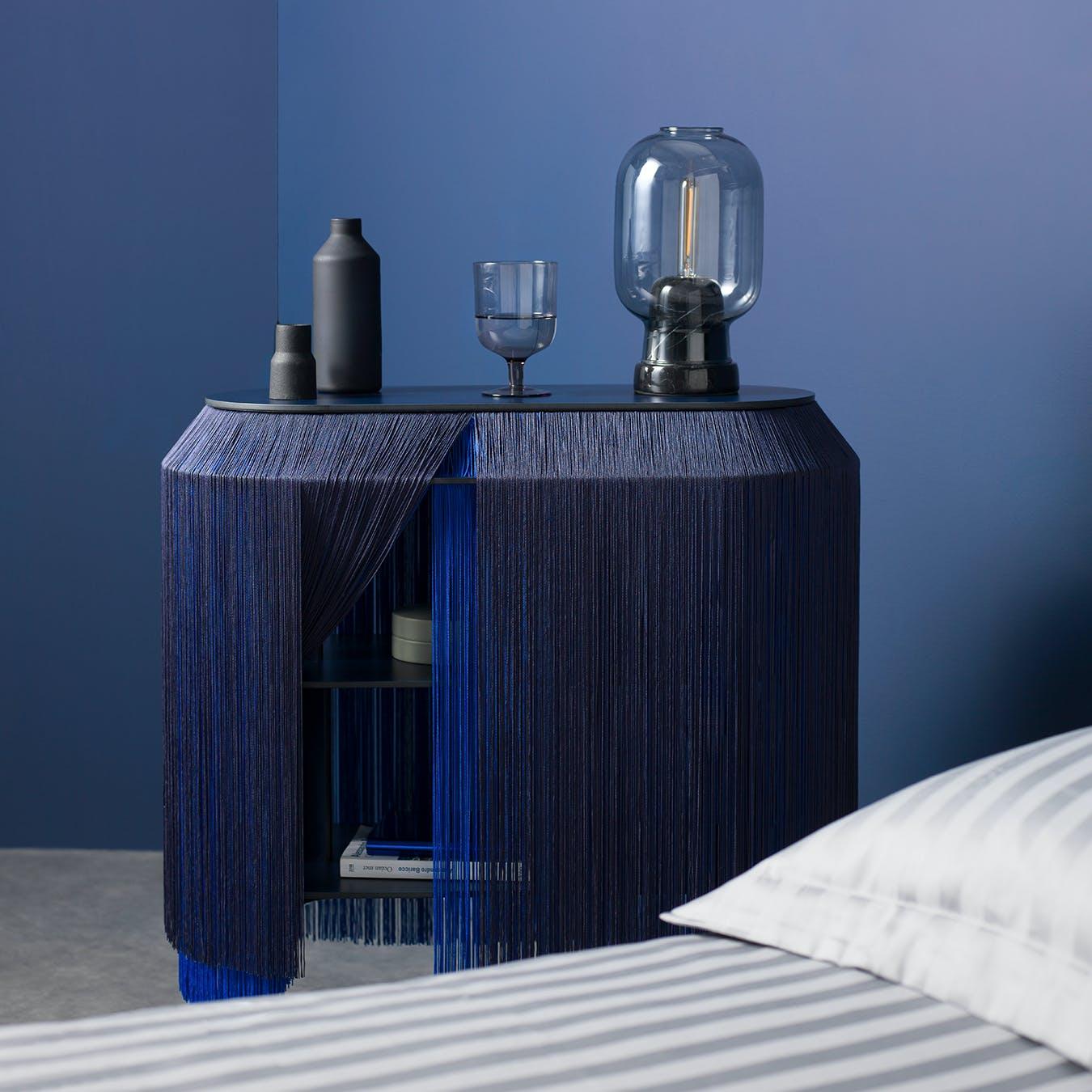 BABY ALPAGA Beside Cabinet - Electric Blue