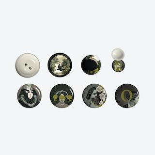 Yuan D'Antan Stackable Plates (set of 8)