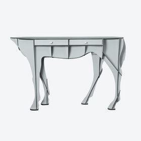 ELISEE Mare Console - Light Grey