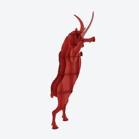 FAUSTO Ibex Shelf - Red
