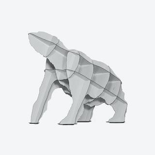 JOE Polar Bear Bookshelf - Light Grey