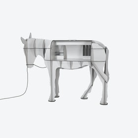 MATURIN Donkey Desk - Light Grey