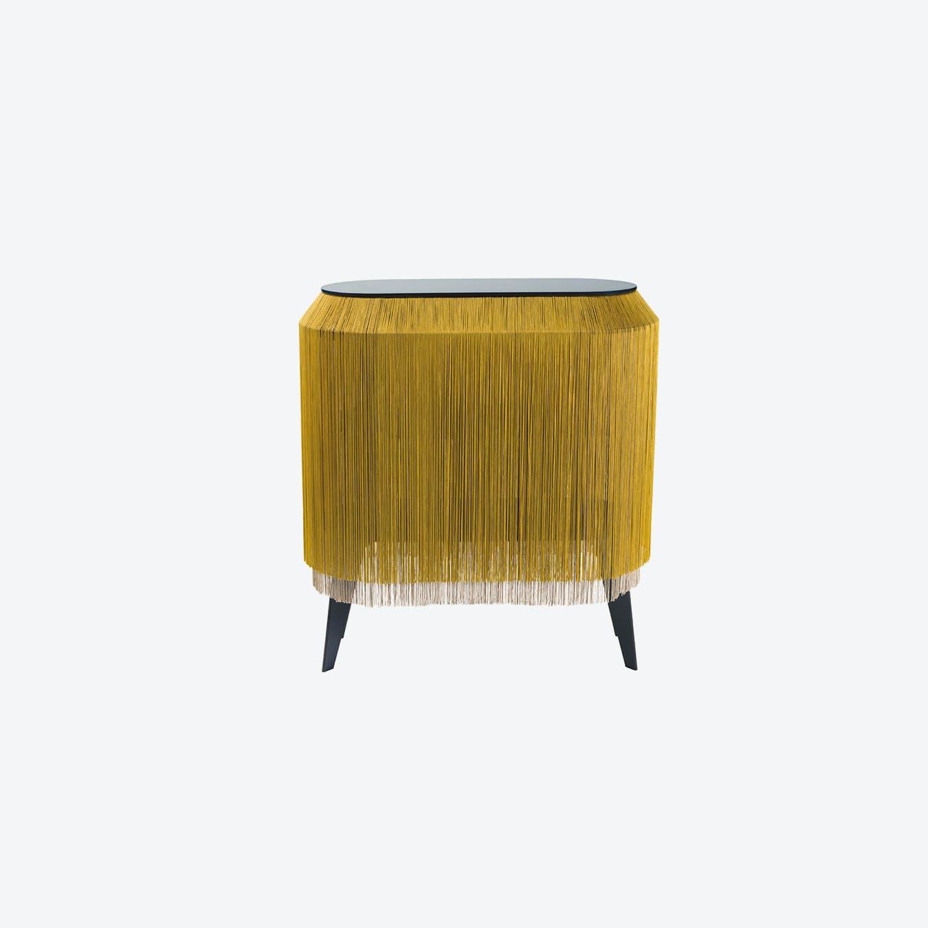 BABY ALPAGA Beside Cabinet - Chic Gold