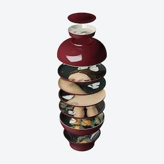 Faux Samblants - Yuan Eden - Set of 4 bowls and 4 plates