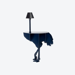 Diva Lucia - Blue - Table and Lamp