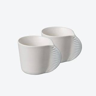 Morphose - Set of 2 Mugs - Pearl Grey
