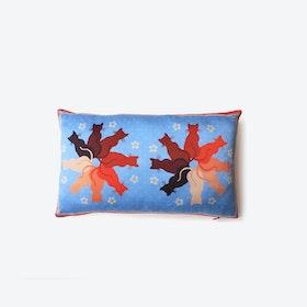 CHLOE Silk Cushion