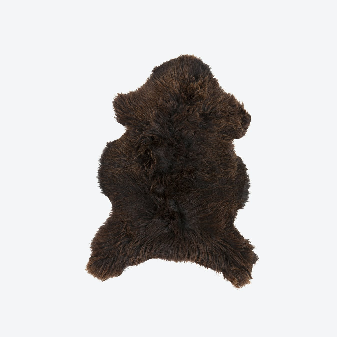 Mid Brown Sheepskin Rug
