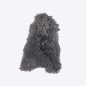Icelandic Sheepskin Rug - Dark Grey