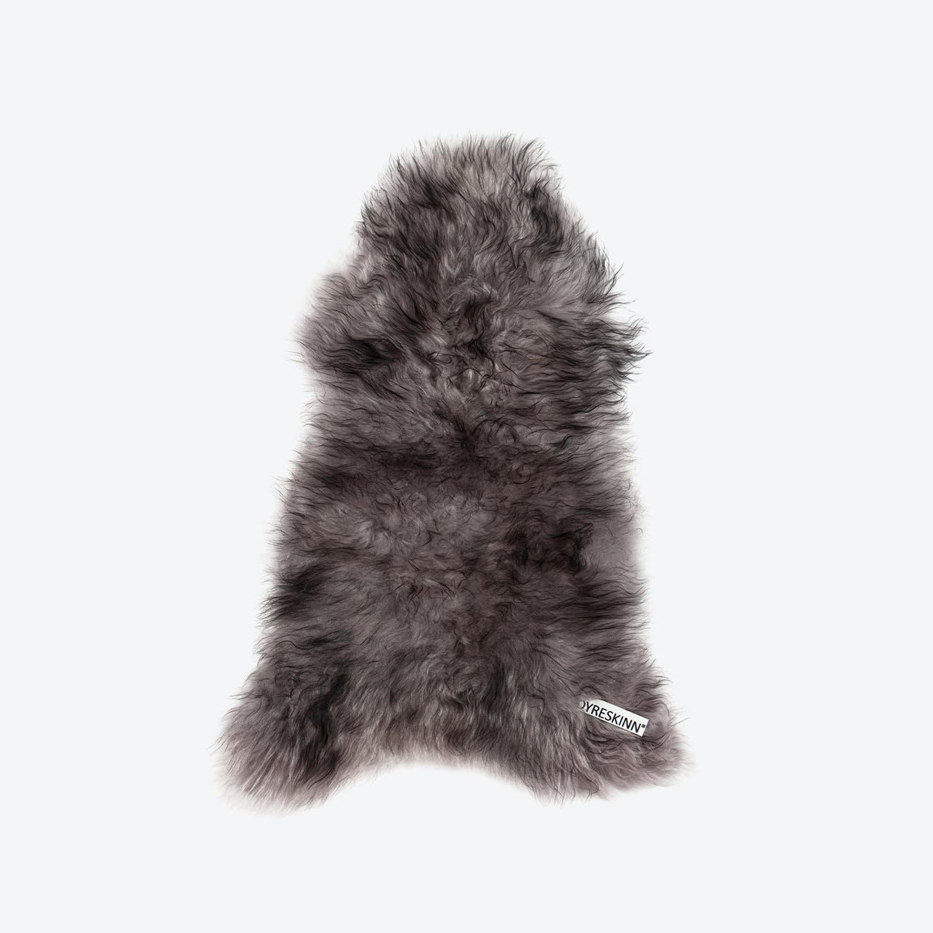 Icelandic Sheepskin Rug - Melange Grey