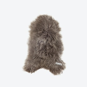 Icelandic Long Wool Sheepskin - Taupe