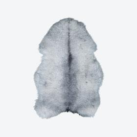 Icelandic Long Wool Sheepskin - Grey