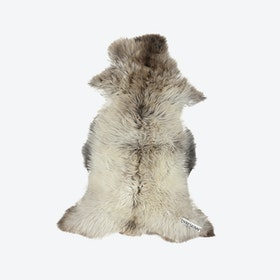 Multicolor Sheepskin Rug