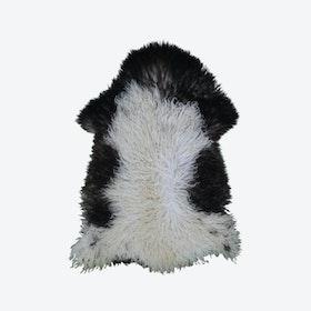 Curly Sheepskin Rug - Multicolour