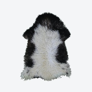 Curly Sheepskin Rug - Multicolour