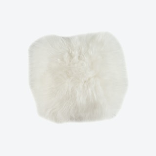 Icelandic Sheepskin Pillow - White