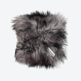 Icelandic Sheepskin Pillow - Melange Grey