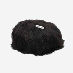 Icelandic Pouf - Black