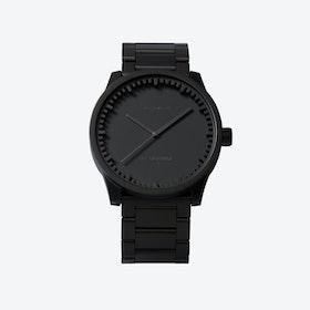 S38 Black Tube Watch
