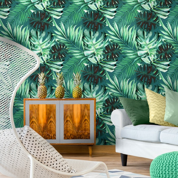 Rainforest Wallpaper by Mind the Gap