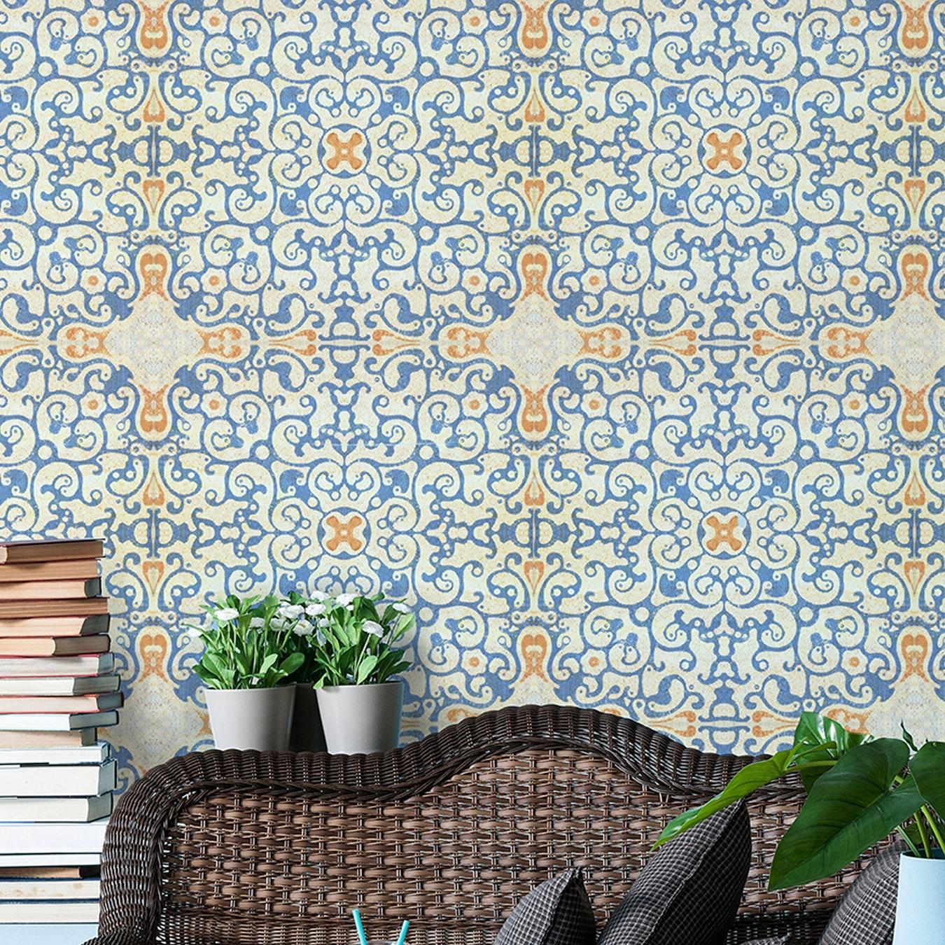 Spanish Tile Wallpaper