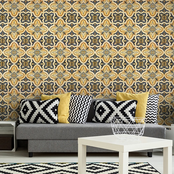 Maghreb Tile Wallpaper by Mind the Gap