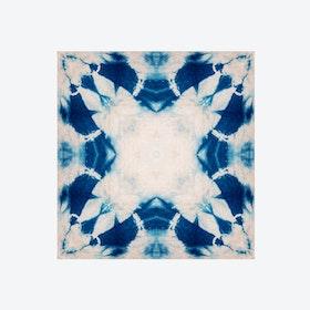 Shibori Flower Wallpaper