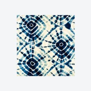 Shibori Swirls Wallpaper