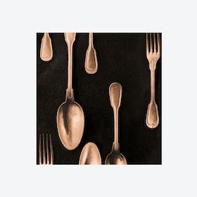 Cutlery Copper Wallpaper