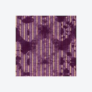 Washed Shibori Burgundy Wallpaper