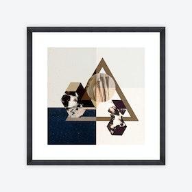 Minimal Geometry Framed Art