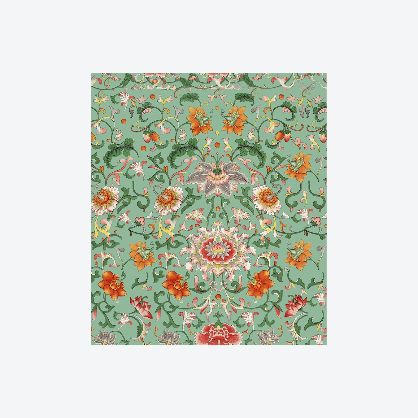 Chinese Floral Wallpaper By Mind The Gap Fy