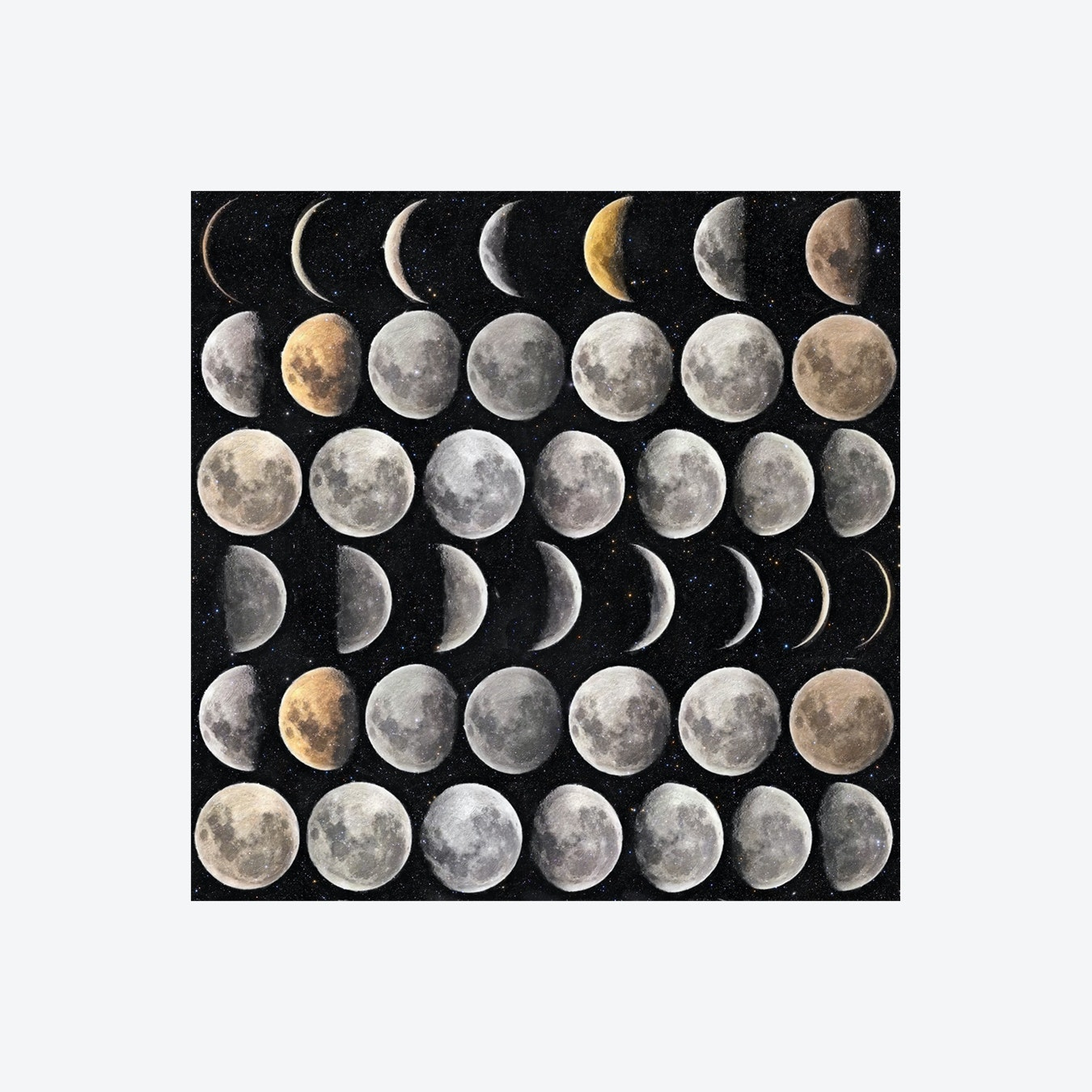 Moon Phases Wallpaper By Mind The Gap Fy