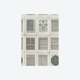 Arabesques Grey Wallpaper