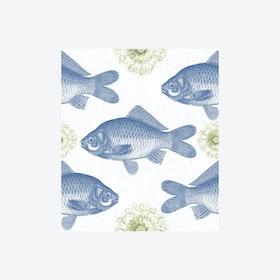 Fish Blue Wallpaper